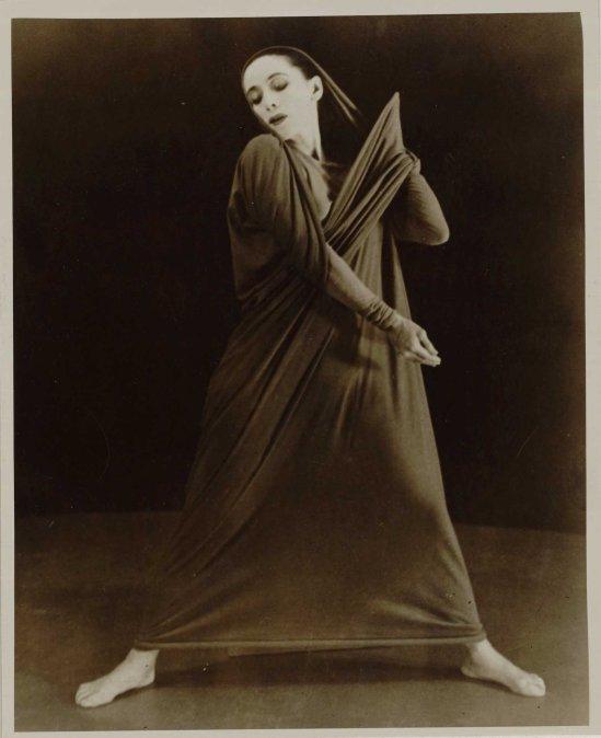 Herta Moselsio Martha Graham in Lamentation, No. 18 coll martha graham