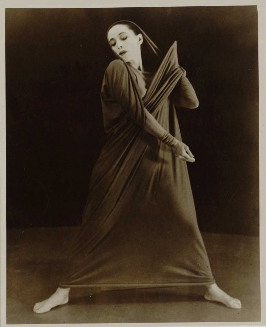 Herta Moselsio Martha Graham in Lamentation, No. 18 coll martha graham