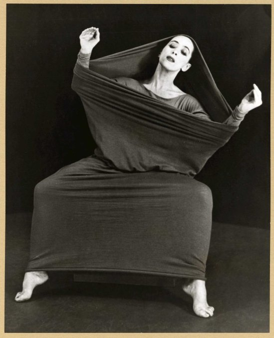 Herta Moselsio Martha Graham in Lamentation, No. 3 coll martha graham