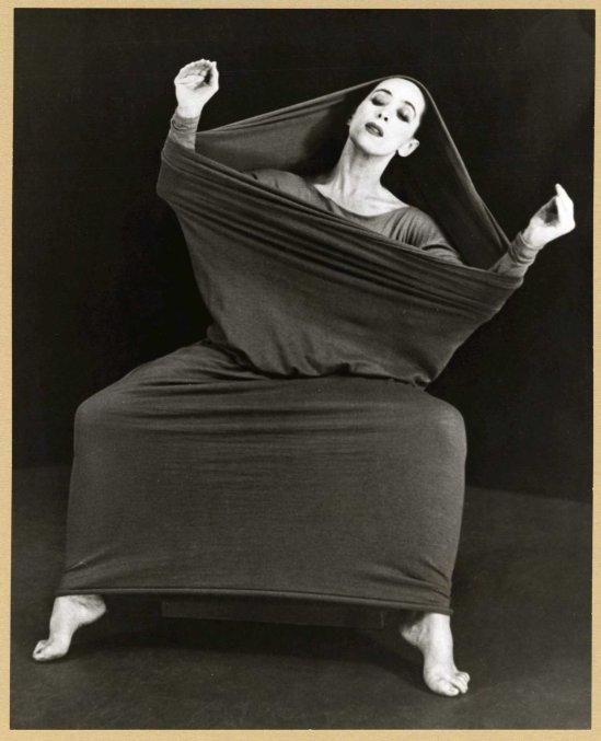 Herta Moselsio Martha Graham in Lamentation, No. 3 coll martha graham