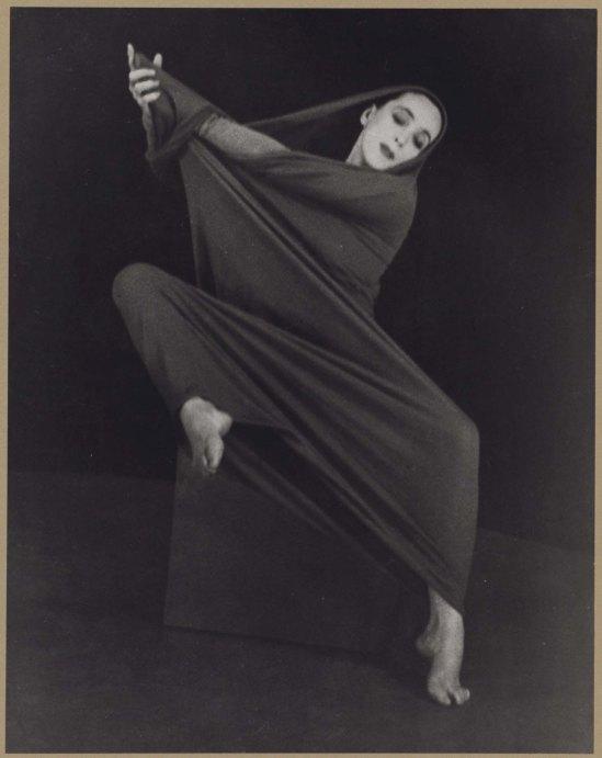 Herta Moselsio Martha Graham in Lamentation, No. 4 coll martha graham