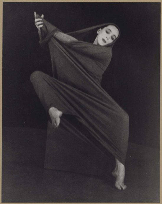 Herta Moselsio Martha Graham in Lamentation, No. 4 coll martha graham