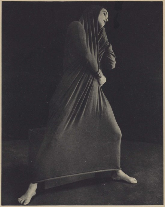 Herta Moselsio Martha Graham in Lamentation, No. 5 coll martha graham