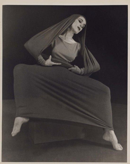 Herta Moselsio Martha Graham in Lamentation, No. 7 coll martha graham