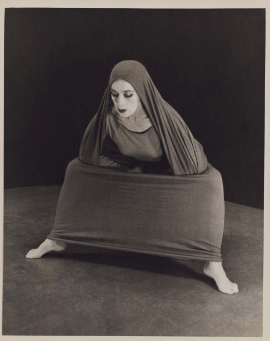 Herta Moselsio Martha Graham in Lamentation, No. 9 coll martha graham