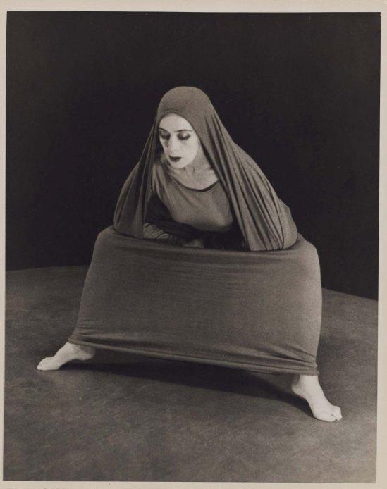 Herta Moselsio Martha Graham in Lamentation, No. 9 coll martha graham