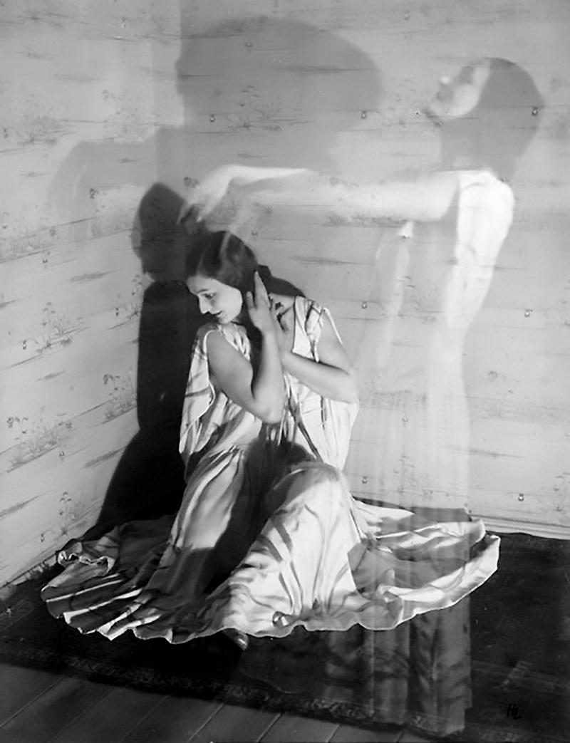 HL- Dancer (double exposure). Circa 1925