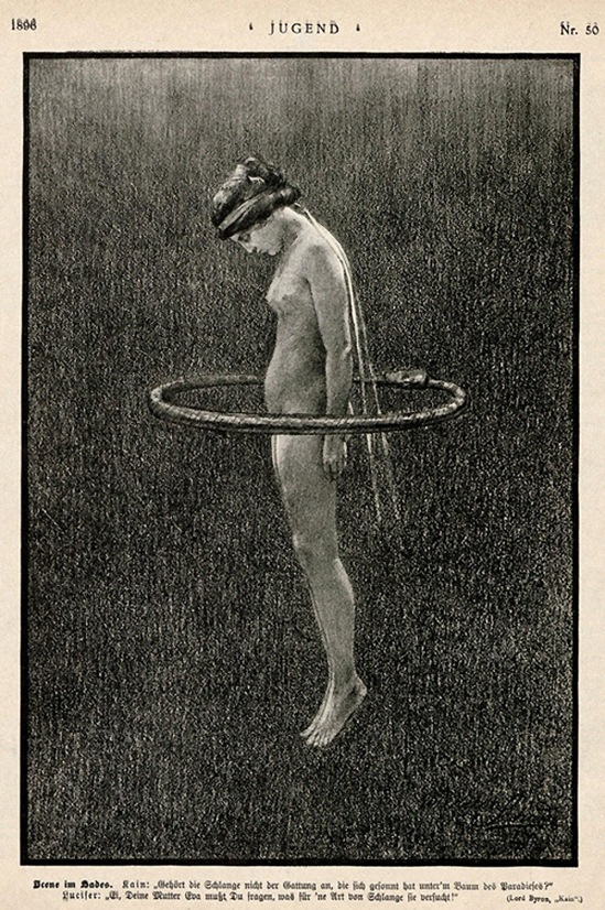 Hugo Höppener (Fidus). Scene in hades from Jugend Magazine 1896