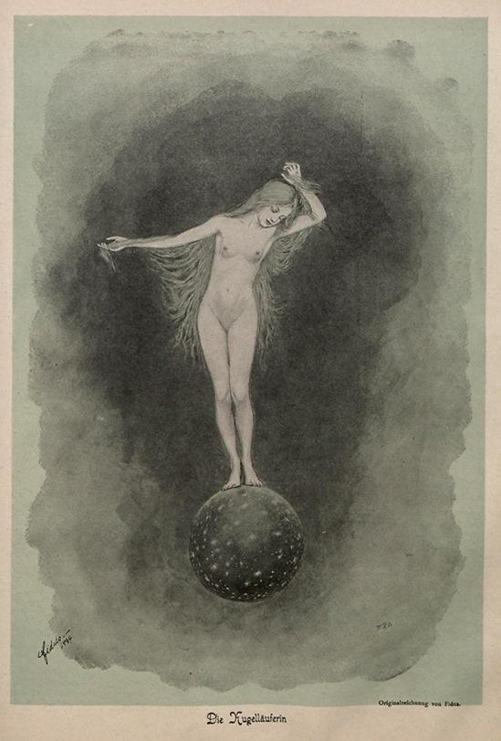 Hugo Höppener (Fidus)Die Kugelläuferin1896, Band 1 (Nr. 1-26), page 297