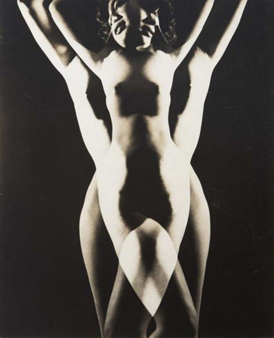 Minayoshi Takada-  Nude, Double Exposure, 1948