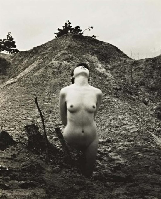 Minayoshi Takada -   Nude leaning backwards, 1948