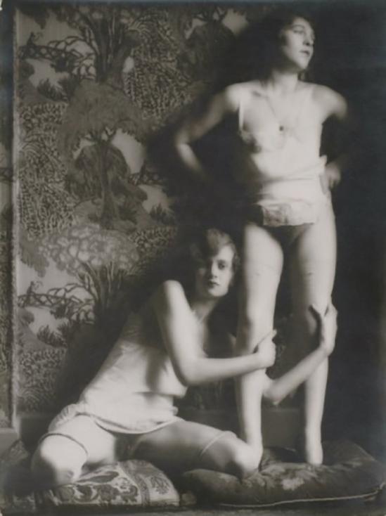 monsieur X- Deux femmes, 1925.