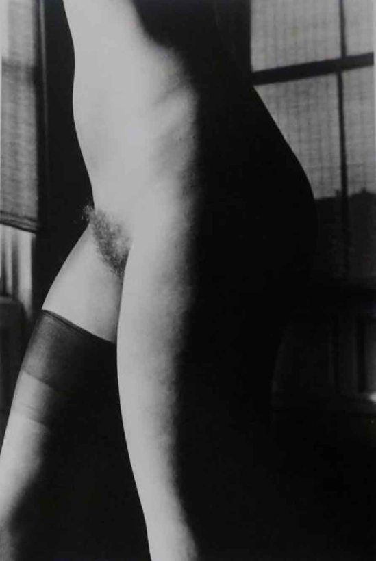 RALPH GIBSON - Nu, de la série Days at Sea, 1974 (Untitled (Nude One Knee High), 1974)