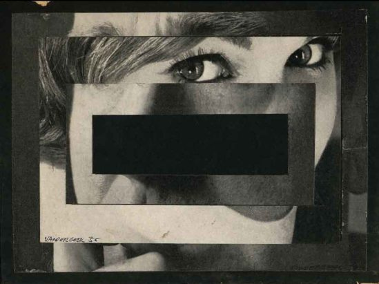 Stan VanDerBeek- A La Mode ,1958