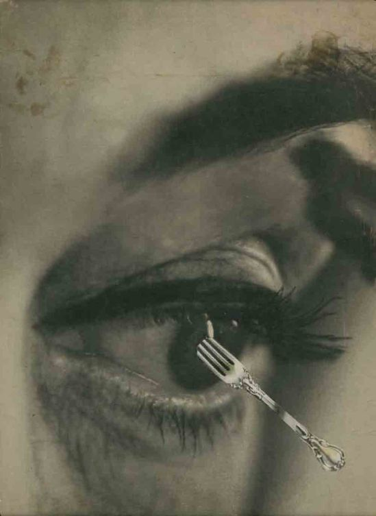 Stan VanDerBeek- Collage from Breathdeath , 1957