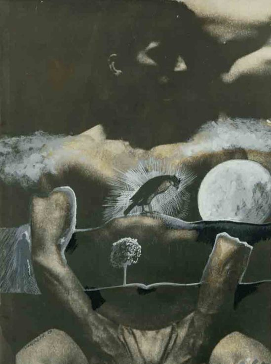 Stan VanDerBeek- Collage from  See saw , 1969