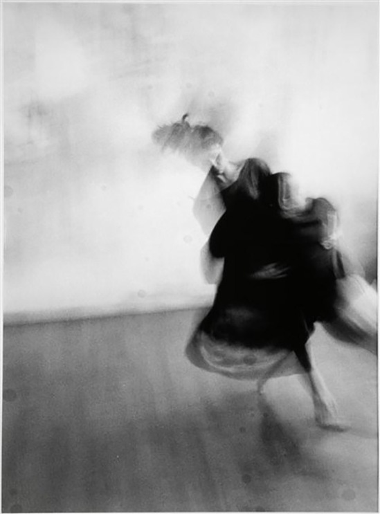 Teo Hernandez - From the serie danse (Catherine Diverrès), vers 1987
