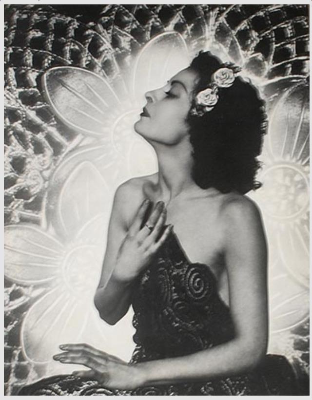 Basil Bailey- Disdain, vintage collodiun , 1930