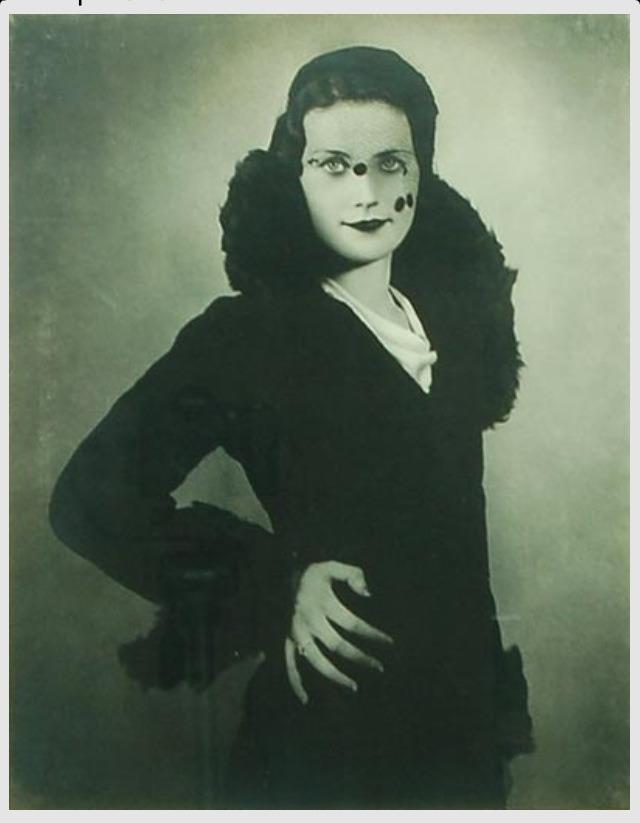Basil Bailey- Half Veil . 1940