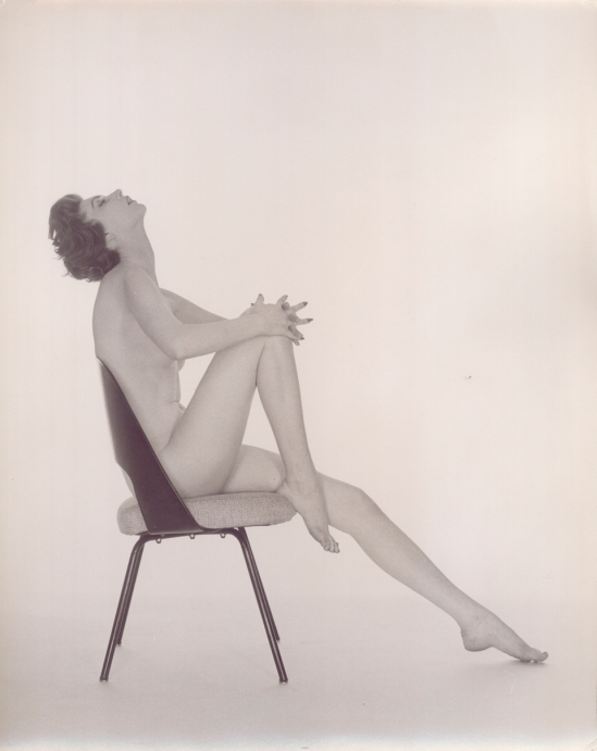Fernand Fonssagrives - Boudoir (Nude on Chair), 1956
