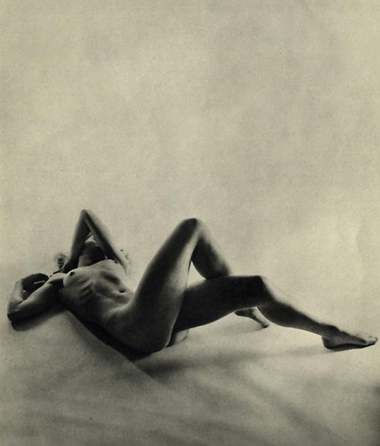 Fernand Fonssagrives- Lisa, 1950 published in figure# 1-(greenwich-village, nudes) , 1951