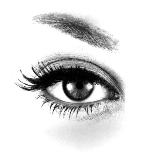 Fernand Fonssagrives- Lisa's eye , 1954