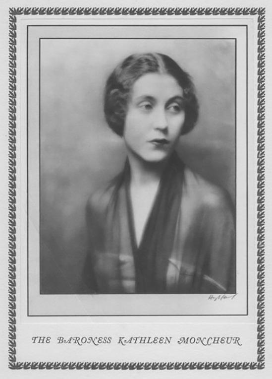 Hugh Cecil- Baronne Kathleen Moncheur,, héliogravure , 1926