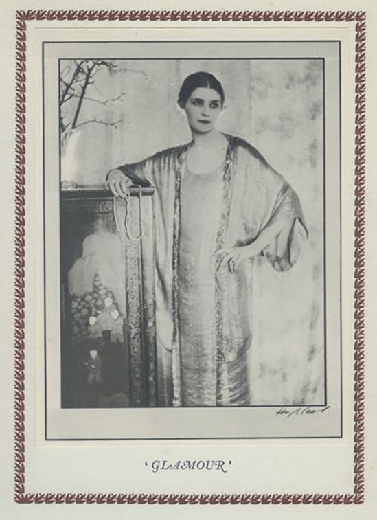 Hugh Cecil-Glamour , héliogravure , 1926