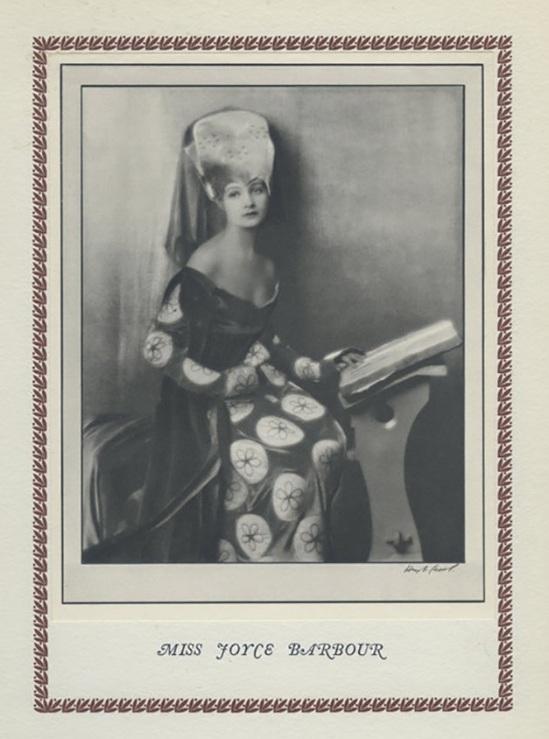 Hugh Cecil-  Joyce Barbour héliogravure , 1926 , héliogravure , 1926