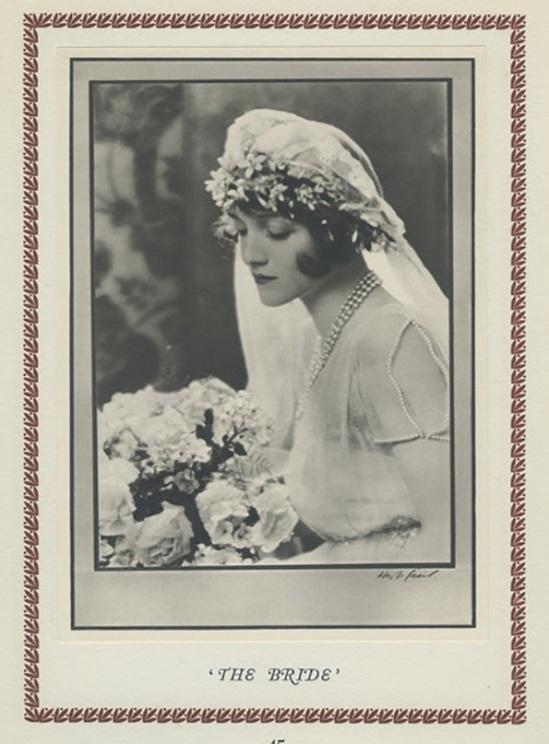 Hugh Cecil-Le Portrait de mariée héliogravure , 1926