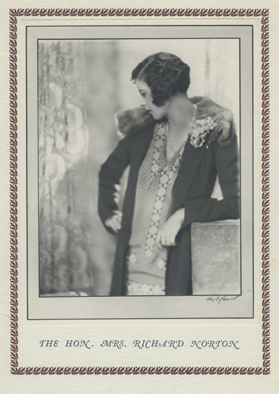 Hugh Cecil-Madame Richard Norton, héliogravure , 1926