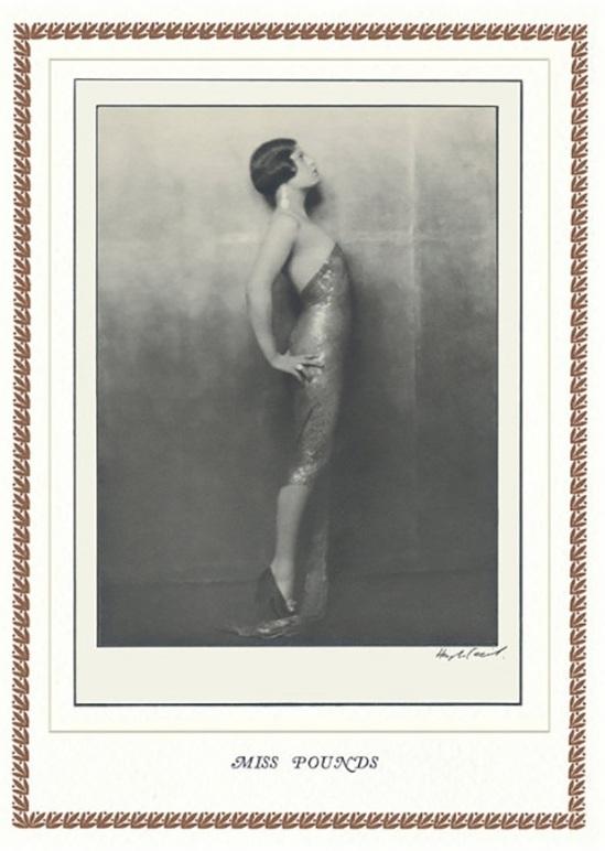 Hugh Cecil-Mademoiselle Pounds, héliogravure , 1926