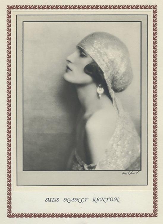 Hugh Cecil-Nancy Kenyon héliogravure , 1926