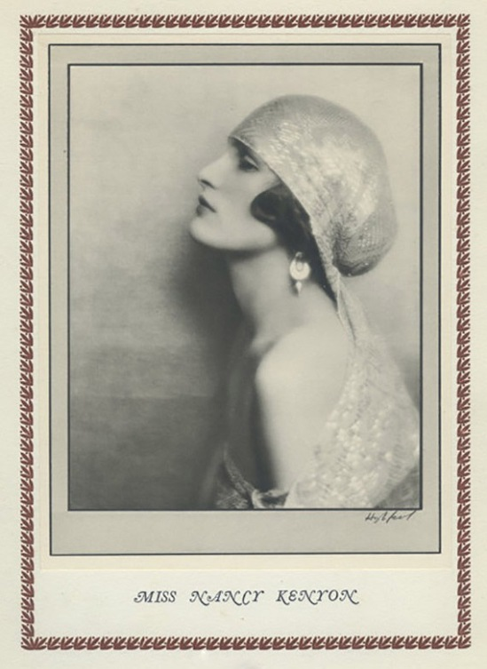 Hugh Cecil-Nancy Kenyon héliogravure , 1926