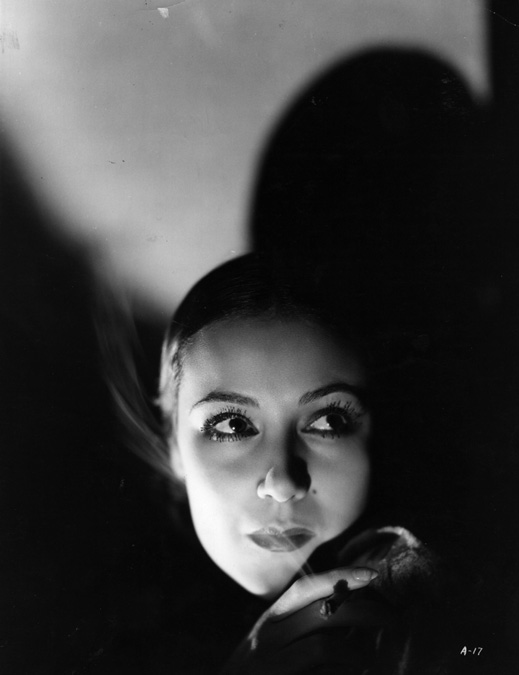 Portrait of Dolores del Rio in I Live for Love , directed by Busby Berkeley, 1935
