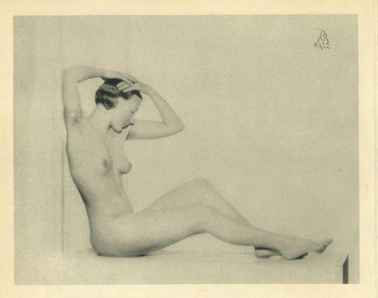 Jan de Meyere - ' Dagmar ', 1933 ( heliogravure)