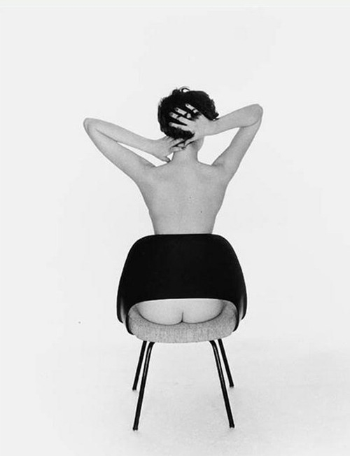 Sitting Pretty Peek-A-Boo Chair, 1956 Photographer Fernand Fonssagrives