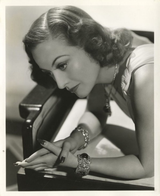 Joan Crawford by Laszlo Willinger from The Women, M-G-M, 1939