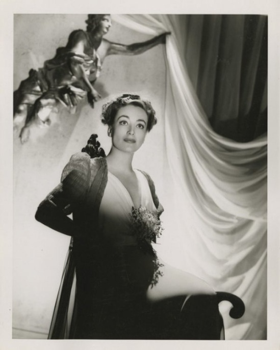 Joan Crawford by Laszlo Willinger from The Shining Hour, M-G-M, 1938