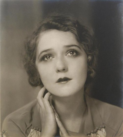 Edward Steichen - Mary Pickford with sad expression, nd ( (1920s)