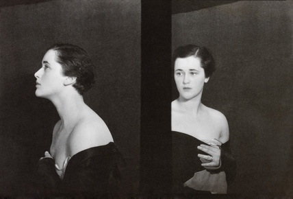 Curtis Moffat, Portrait of a woman, About 1925 © Victoria and Albert Museum, London/Estate of Curtis Moffat