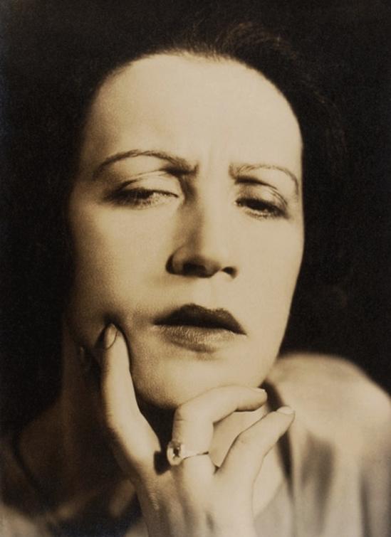 Aenne Biermann- Porträt der Schauspielerin M(aria) F(ein) , 1929