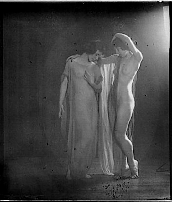 Arnold Genthe - Desha and Leah dancing , 1921._e