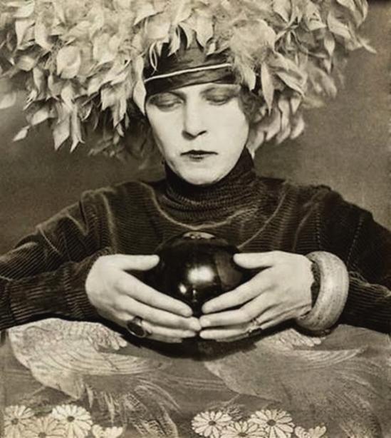 Curtis Moffat -Nancy Cunard (1898-1965), writer, diptych, London, UK, c.1925. © Curtis Moffat Victoria and Albert Museum 1