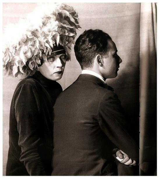 Curtis Moffat & Olivia Wyndham- Nancy Cunard and Louis Aragon, 1926