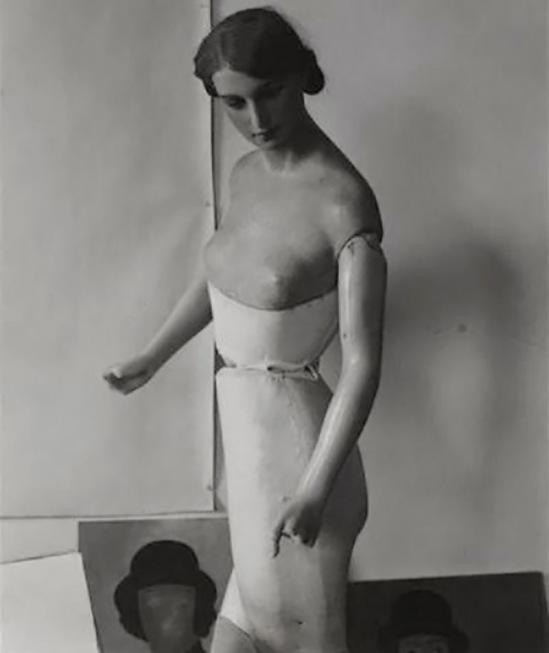 Paul Citroën -Schaufensterpuppe, 1928, ( collection centre Pompidou, paris)