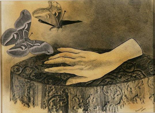 Henry Štyrský- Albâtre part, Albâtre petite main) 1940