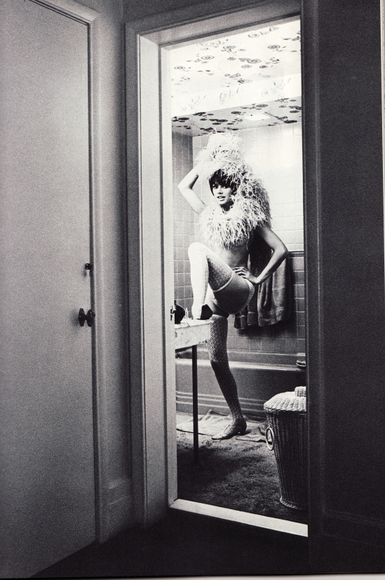 Wingate Paine- Showgirl in a bathroom, USA, 1960-66 From Mirror of venus, 1966