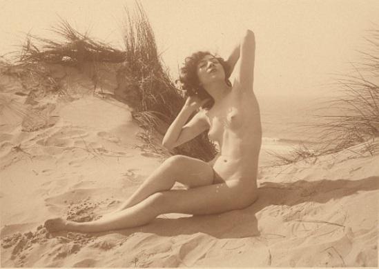 Marcel Meys - Femmes Nu anatomique étude extérieure, 1930