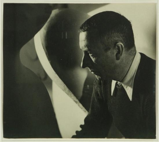Florence Henri- Composition Portrait de Jean Arp, 1934